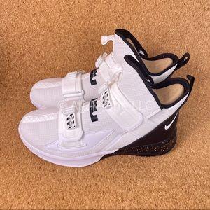 Nike Lebron Soldier XIII TB Promo White Black